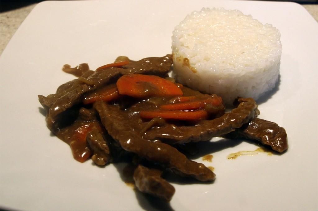 Boeuf au curry Japonais
